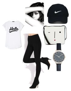 """Untitled #24"" by elma-camdzic ❤ liked on Polyvore featuring Lulu Guinness, Chanel and Nike Golf"