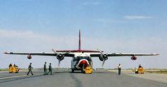 Fairchild C-123 Provider.  Photography by David E. Nelson, 1961.