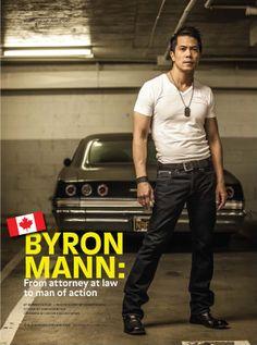 byron mann height