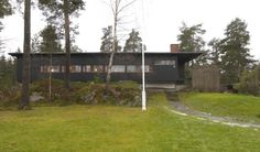 My house. Built 1962. Architect: Are Vesterlid