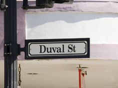 Duval Street, Key West, Florida, United States of America, North America Photographic Print