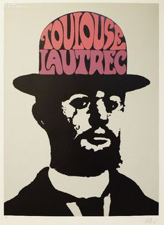 Toulouse Lautrec By Peter Max - Serigraph on Paper