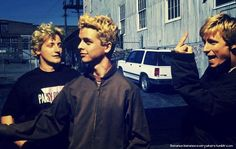 Tre, Billie, and Mike