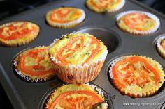Mini Crustless Vegetable Quiches — Feeding My Temple