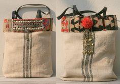Grainsack tote bag  www.etsy.com/shop/KussenvanPaula www.kussenvanpaula.blogspot.nl