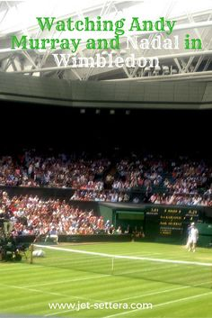 Read about a Wimbledon game between Andy Murray and Karlovic and between Nadal…