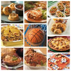 March Madness Party Recipes from Taste of Home