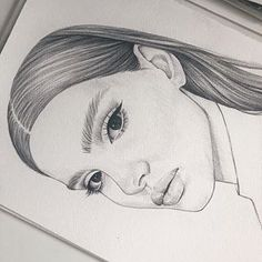 art and drawings Girl Drawing Sketches, Girly Drawings, Art Drawings Sketches Simple, Pencil Art Drawings, Arte Sketchbook, Drawing People, Painting & Drawing, Art Reference, Artwork