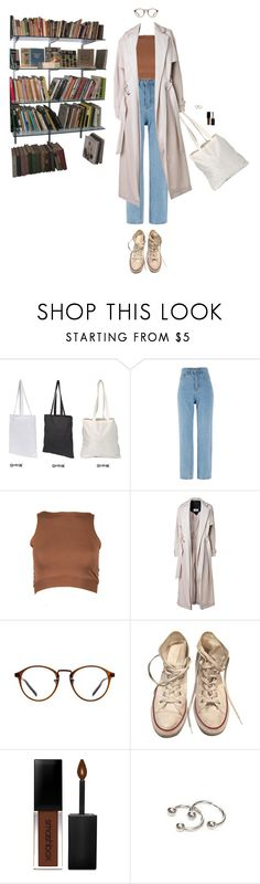 """""""Riverdale"""" by djulia-tarasova ❤ liked on Polyvore featuring By Malene Birger, Converse and Smashbox"""