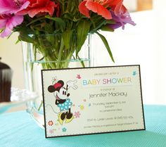 Mickey & Minnie Mouse Baby Shower | Disney Baby