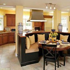 Зонирование кухни и столовойЧто скажете?