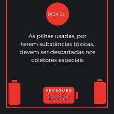 Os coletores são encontrados em supermercados e em algumas lojas de departamento.  Procure a loja mais próxima e seja um amigo do ambiente!  #eusoubg #baiadeguanabara #guanabara #guanabarabay #riodejaneiro #errejota #analisedeagua #labhidroufrj #ufrj #pilhas