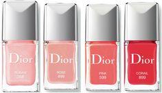 новые лаки диор весна лето 2015  Dior Vernis Gel Shine Long Wear Nail Lacquer new 2015