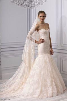 Blush Wedding Dress 2013