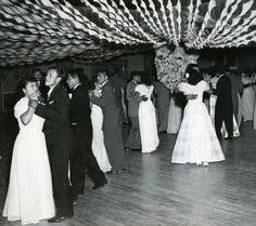 Phoenix Indian School formal student dance, Remembering Our Indian School Days, ca. 1940-1950. Heard Museum, Phoenix, Arizona [RC125(6)1.22.59]
