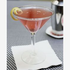 Cosmopolitan......love a good Cosmo....not too much cranberry juice !