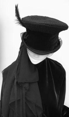 Blackpin on Etsy--beautiful hats!