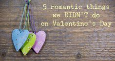 5 romantic things Va