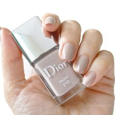Dior Nail Polish, Dior Nails, Summer Nail Polish, Best Nail Polish, Natural Nail Designs, Gel Nail Art Designs, Pink Nail Colors, Nail Polish Colors, Manicure And Pedicure
