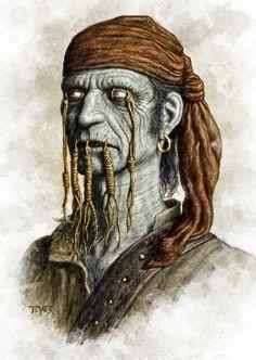 Zombie Pirate - Swab