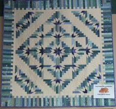 Stellar Quilts Judy Martin   Log Cabin quilt designed by Judy Martin. Pattern is in Judy Martin ...