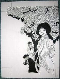 Original Comic Art Andreas - Capricorn Cover - W.B.