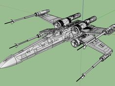 Mister-X's Star Wars X-Wing Fighter   adjusted and modified for 3D Printing and converted to Sketchup format.   Original Mister-X's X-Wing Fighter 3D Model can be found at scifi3d.com It can be downloaded freely, but it is in 3ds Max format.   The model is in Full Life size scale of 13 meter length. so you need to scale it down to what ever scale you need. make sure to scale every parts down to the same scale factor.   many parts have meshes that are not closed, which may cause problem for…