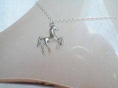 Horse Anklet Silver Stallion Anklet Quarter Horse Girls of