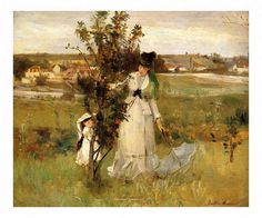 Hide And Seek 1873 Oil On Canvas By Berthe Morisot . Truly Art Offers Giclee Unframed Prints on Paper, Canvas Art, and Framed Art in all our Collections. Framed Art, Framed Prints, Art Prints, Wall Art, Famous Artists, Great Artists, Famous Impressionist Paintings, Oil On Canvas, Canvas Art