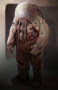 Organic Astronaut2 by thomaswievegg.deviantart.com on @DeviantArt
