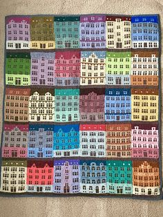 Ravelry: Project Gallery for Copenhagen Building Blocks pattern by Jake Henzler Knitting Stitches, Knitting Patterns, Knitting Ideas, Ravelry Free Patterns, Earth Day Projects, Little Cotton Rabbits, Knit Art, Rock Painting Designs, Fair Isle Pattern