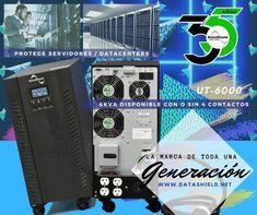 Inyecta energía ininterrumpida a tu empresa con el UT-6000 es el #UPS Bifásico de DataShield Ideal para la protección de #servidores #cctv #datacenters #TI 6KVA I Will Protect You