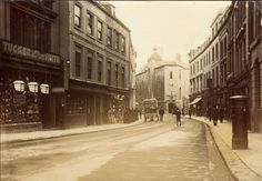 A great view of Whimple Street, Plymouth (Webrarian); showing the old guildhall