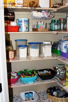 I'm IN LOVE with this pantry organization. She breaks it down step-by-step. One of my goals for this year!