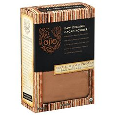 Ojio 100% Organic Arriba Cacao Powder, 8 oz >>> Once in a lifetime offer : baking desserts recipes