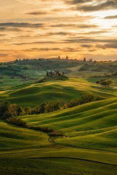 Val d'Orcia, Toscana Italia | Landscapes