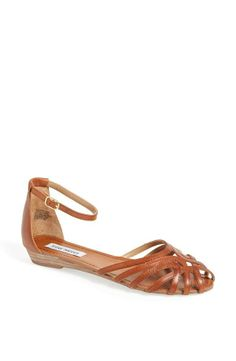 Love this dainty cage sandal for spring.