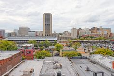 #rva skyline from the rooftop terrace