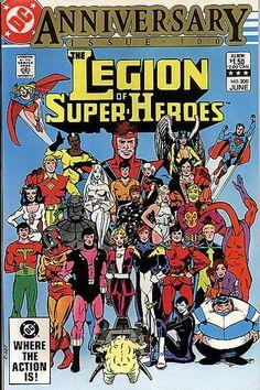 Legion of Super-Heroes #300.