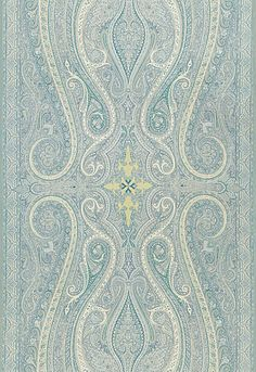 Pasha Paisley design by Martyn Lawrence Bullard for Schumacher available from Orient House