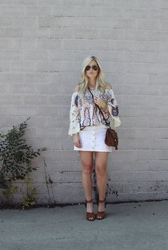 Button Through Mini Skirt http://www.shopstyle.com/action/loadRetailerProductPage?id=479499336&pid=uid9169-25030263-1 #KatalinaGirl #blogger #buttonfrontskirt #fallstyle