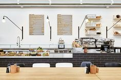 The Vitra Schaudepot Deli, designed by Studioilse from London, is the second culinary location on the Vitra Campus, after the VitraHaus Café. The dominant design element of the Deli is a large counter where guests can place their orders and pick up their take-away products. #interdema #design #designproducts #VitraSchaudepot #schaudepot #VitraCampus #Vitra #дизайн #дизайнерскаямебель