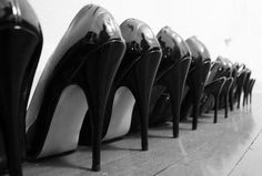 As a fashion object and symbol, the high heel shoe is weighted with meaning. It's also weighted with the wearer's entire body weight. Stiletto Heels, High Heels, Shoes Heels, Pumps, Bata Shoes, Christian Louboutin, Cool Style, How To Wear, Maria Hill