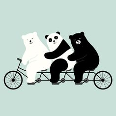 """Family Time """" Distance and time cannot separate us because we are family : ) """" #fun #family #art #painting #draw #pencil #watercolor #sketch #gallery #picture #landscape #polarbear #design #graphic #vector #bear #typography #happy #colors #image #life #cool #boy #girl #friends #beautiful #panda #cute #kids #手繪 by andywestface"""