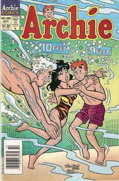 ARCHIE #428 Near Mint, Betty and Veronica, Jughead, Archie Comics 1994