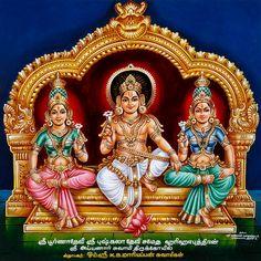 Ayyanar (aka Aiyanar), a Tamil village deity said to have been created by both Vishnu and Shiva, thus bearing the power of both preservation and destruction. He is a warrior deity who battles evil spirits and evil gods. He may also be a form of Kartikeya. Shiva Art, Hindu Art, Dancing Ganesha, Lord Murugan Wallpapers, Lakshmi Images, Hindu Statues, Hindu Mantras, Vedic Mantras, Kali Goddess