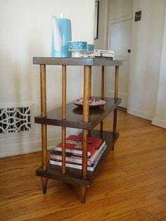 Mid Century Modern Bookshelf Los Angeles by housecandyla on Etsy, $225.00