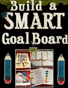 Have your students build a SMART goal board using this product and manila folders!  My students love this activity and it helps prepare them for life after middle/high school! Download the preview for a better look! $