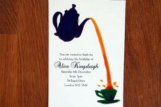 High Tea Invitation - Tea Party/Birthday/General