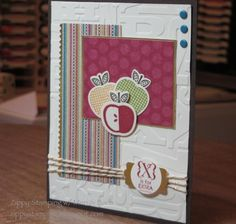 Apple for Teacher by btrich - Cards and Paper Crafts at Splitcoaststampers